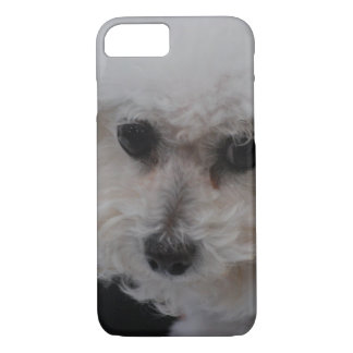 甘いBichon Frise iPhone 8/7ケース
