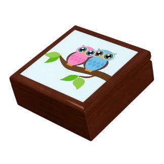 甘くロマンチックなフクロウ ギフトボックス
