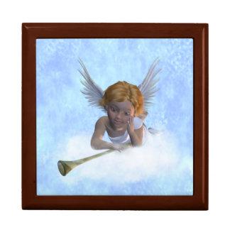 甘く可愛らしい天使のギフト用の箱 ギフトボックス