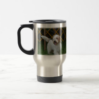 甘く壮大なバセット犬犬 トラベルマグ