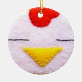 甘く柔らかい鶏 セラミックオーナメント
