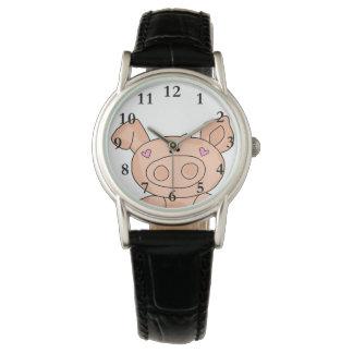甘く豚のような腕時計 腕時計
