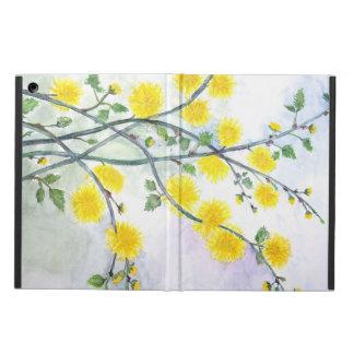 甘く黄色い花 iPad AIRケース