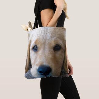 甘く、甘い子犬 トートバッグ