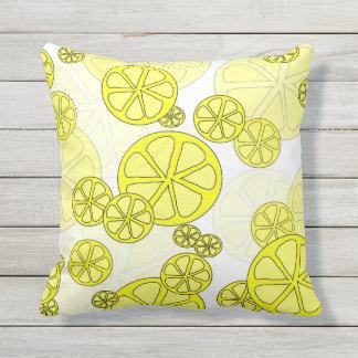 甘美なレモン屋外の枕 アウトドアクッション