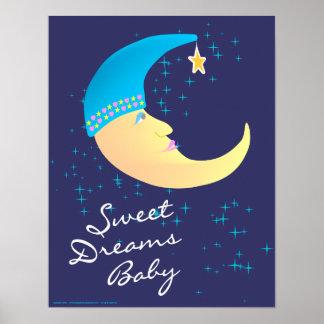 甘美な夢のベビーポスタープリント ポスター