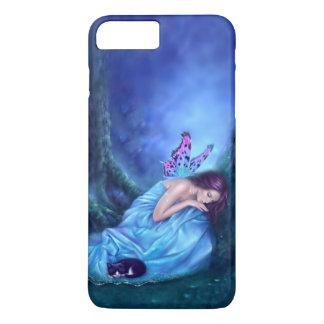 甘美な夢の睡眠の妖精及びマウス iPhone 8 PLUS/7 PLUSケース