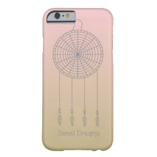 甘美な夢のDreamcatcher-のピンクか金ゴールド Barely There iPhone 6 ケース
