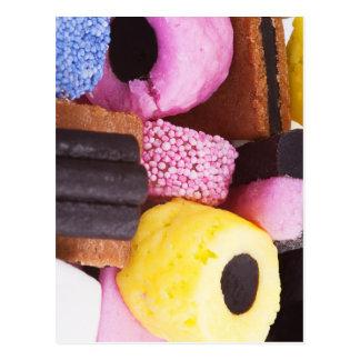 甘草の有名な菓子 ポストカード