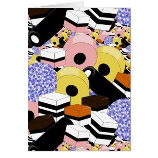 甘草の菓子 カード
