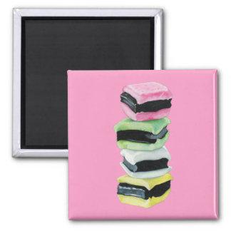 甘草のAllsortsのピンクの磁石 マグネット
