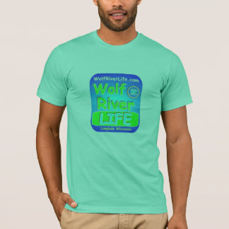生きているオオカミの川 Tシャツ