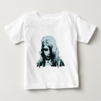 生きているゾンビの女の子の夜 ベビーTシャツ
