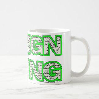 生きているマグsobercards.comのためのデザイン コーヒーマグカップ