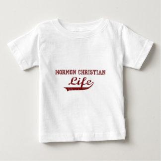 生きているモルモンのクリスチャン ベビーTシャツ