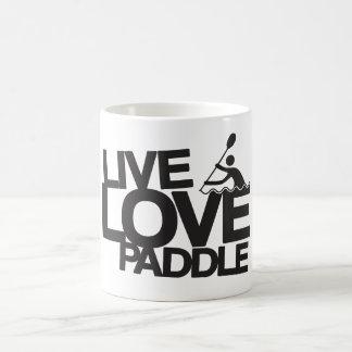 生きている愛かい|カヤックのカヌー コーヒーマグカップ