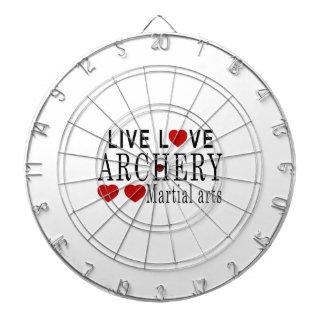 生きている愛アーチェリーの武道 ダーツボード