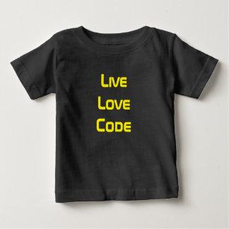 生きている愛コード ベビーTシャツ