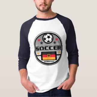 生きている愛サッカードイツ Tシャツ