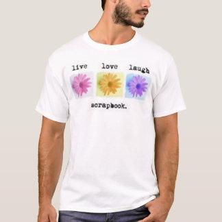 生きている愛スクラップ Tシャツ