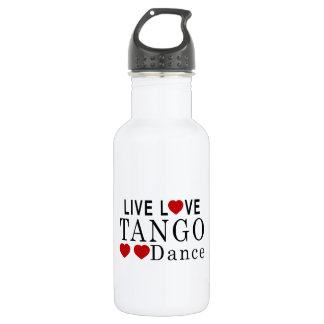 生きている愛タンゴのダンス ウォーターボトル