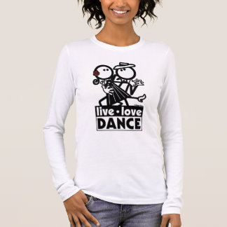 生きている愛ダンスTANGO2 長袖Tシャツ