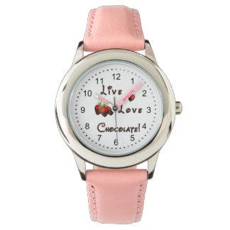 生きている愛チョコレート 腕時計
