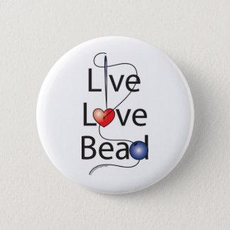 生きている愛ビード 缶バッジ