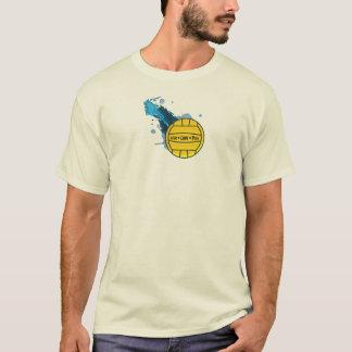 生きている愛ポロ-水球の人のワイシャツ Tシャツ