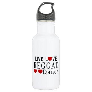 生きている愛レゲエのダンス ウォーターボトル