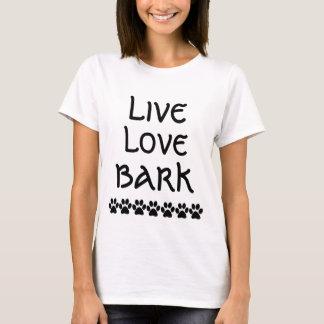 生きている愛吠え声 Tシャツ
