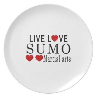 生きている愛相撲の武道 プレート