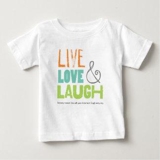 生きている愛笑いのティー ベビーTシャツ