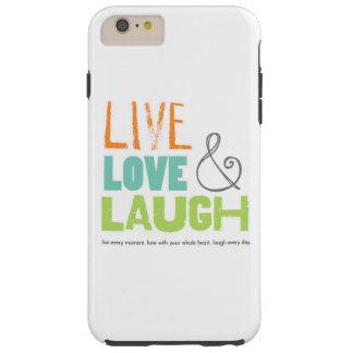 生きている愛笑いの電話箱 TOUGH iPhone 6 PLUS ケース