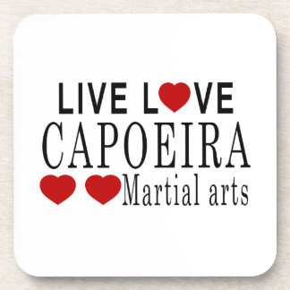 生きている愛CAPOEIRA武道 コースター