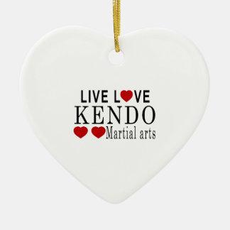 生きている愛KENDO武道 セラミックオーナメント