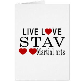 生きている愛STAV武道 カード