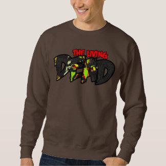 生きている死者は-セーター見ています スウェットシャツ