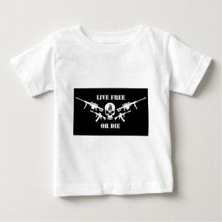 生きている自由または死にます ベビーTシャツ