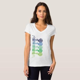 生きている色のSteampunk_Phage Tシャツ