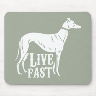 生きている速い マウスパッド