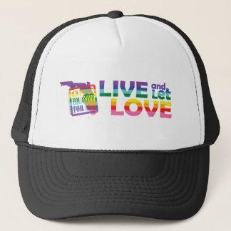 生きているFLは愛を可能にしました キャップ