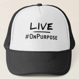 生きているOnPurpose Apparell キャップ