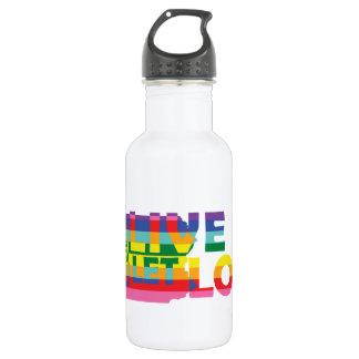 生きているPAは愛を可能にしました ウォーターボトル