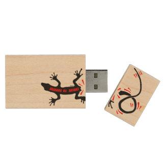 生き延びるために展開させて下さい 木製 USB メモリ