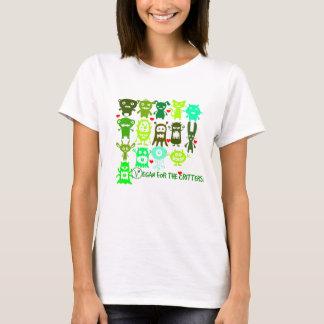 生き物のためのビーガン! 女性のTシャツ Tシャツ