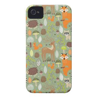 生き物の森林 Case-Mate iPhone 4 ケース