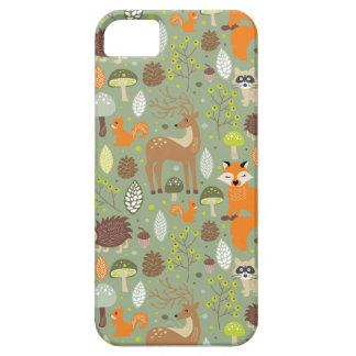 生き物の森林 iPhone SE/5/5s ケース