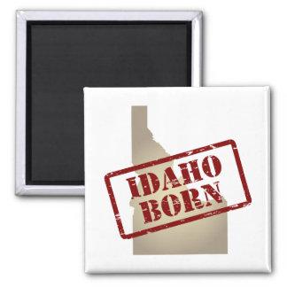 生まれるアイダホ-地図のスタンプ マグネット