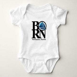 生まれるメルボルンのヨットの赤ん坊 ベビーボディスーツ